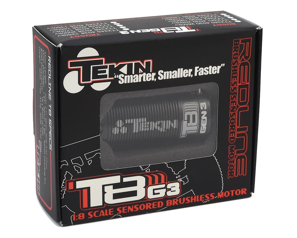 Tekin Redline T8 GEN3 4038 1/8 Truggy Competition Brushless Motor (2250kV)