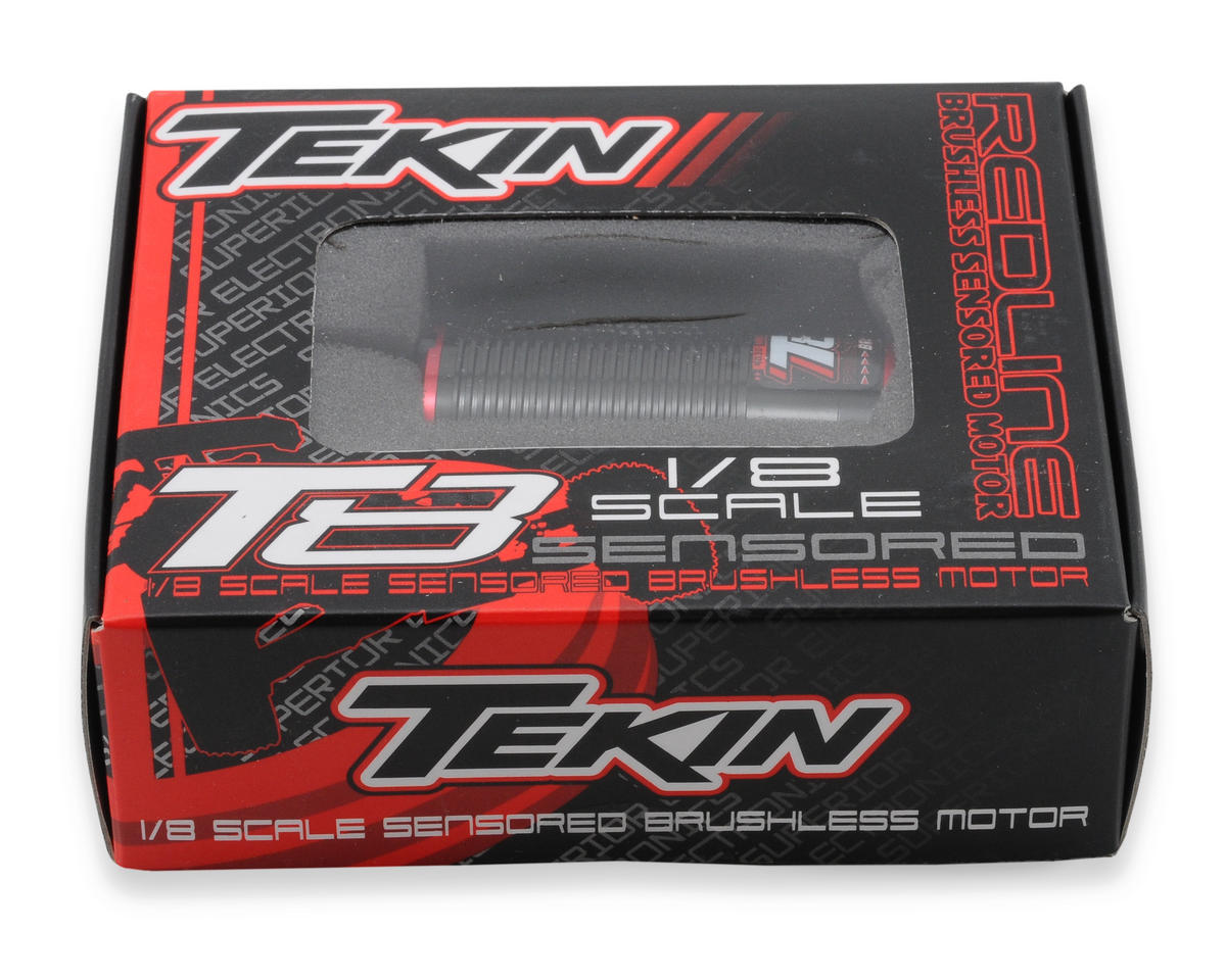 Tekin Redline T8 1/8th Scale Truggy Competition Brushless Motor (1550kV)