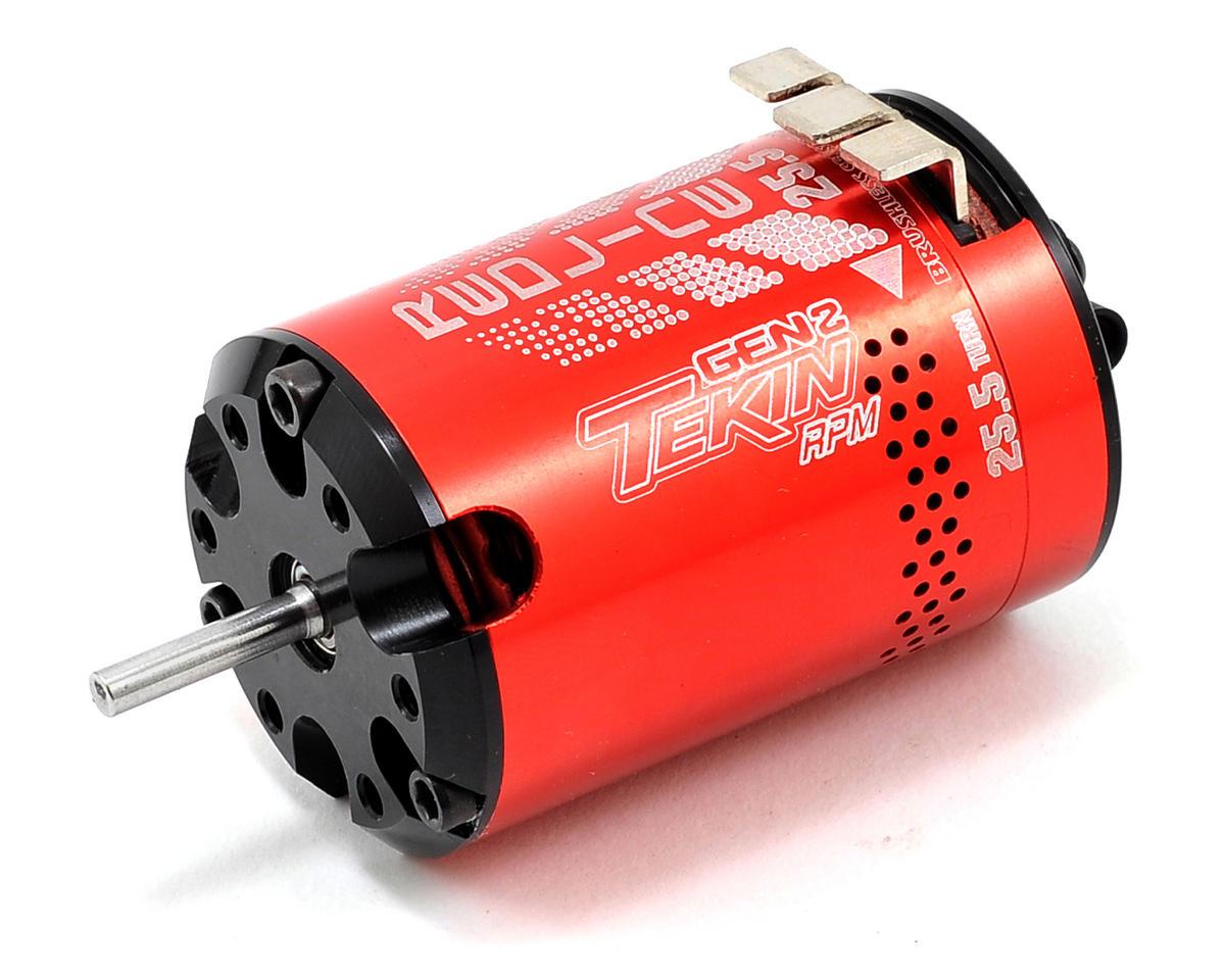 Tekin Redline Gen2 RPM Series Sensored Brushless Motor (25.5T)