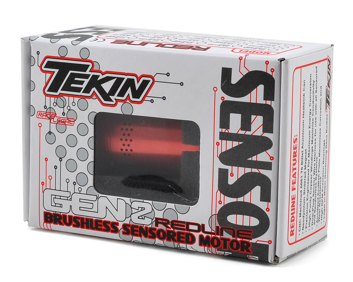 Tekin Redline Gen2 Modified Series Sensored Brushless Motor (4.5T)
