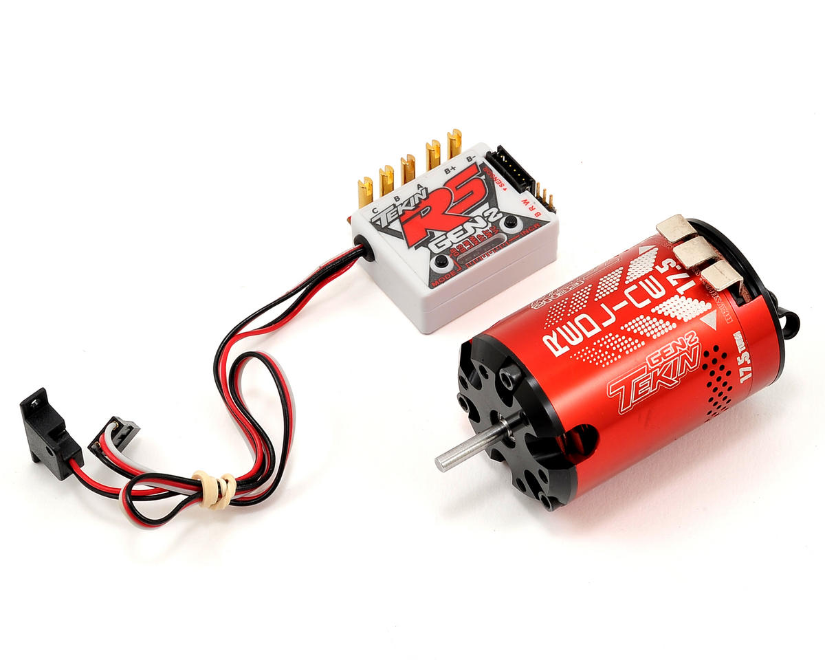 Tekin RS Gen2 Sensored Brushless ESC/Motor Combo (17.5T)