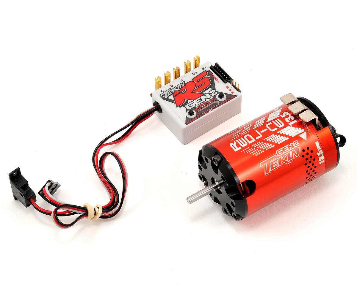 Tekin RS Gen2 Sensored Brushless ESC/Motor Combo (13.5T)