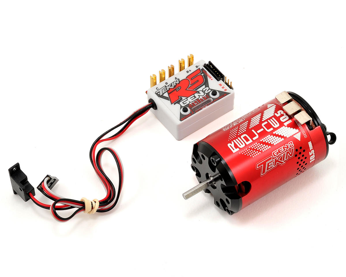 Tekin RS Gen2 Sensored Brushless ESC/Motor Combo (10.5T)