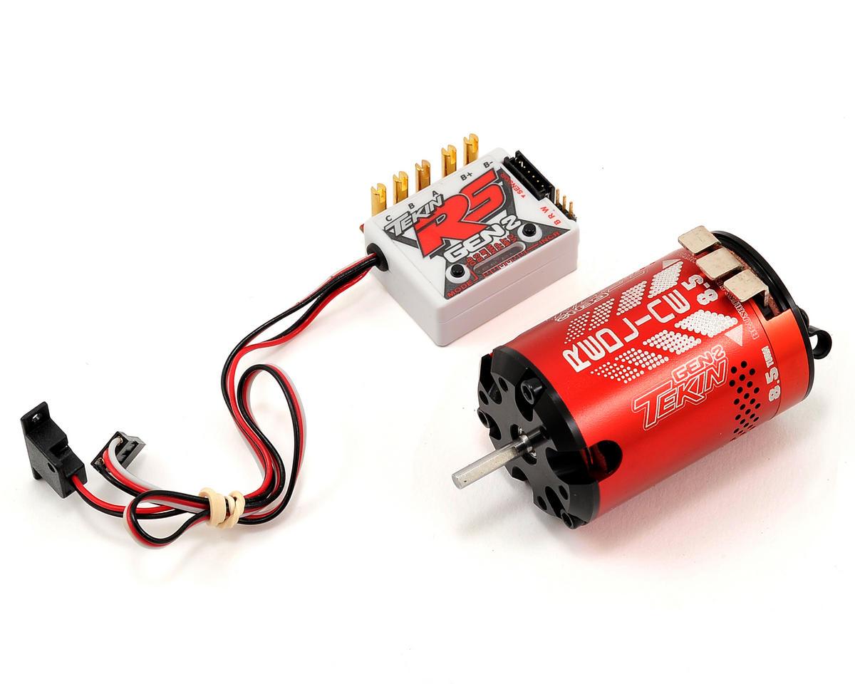 Tekin RS Gen2 Sensored Brushless ESC/Motor Combo (8.5T)