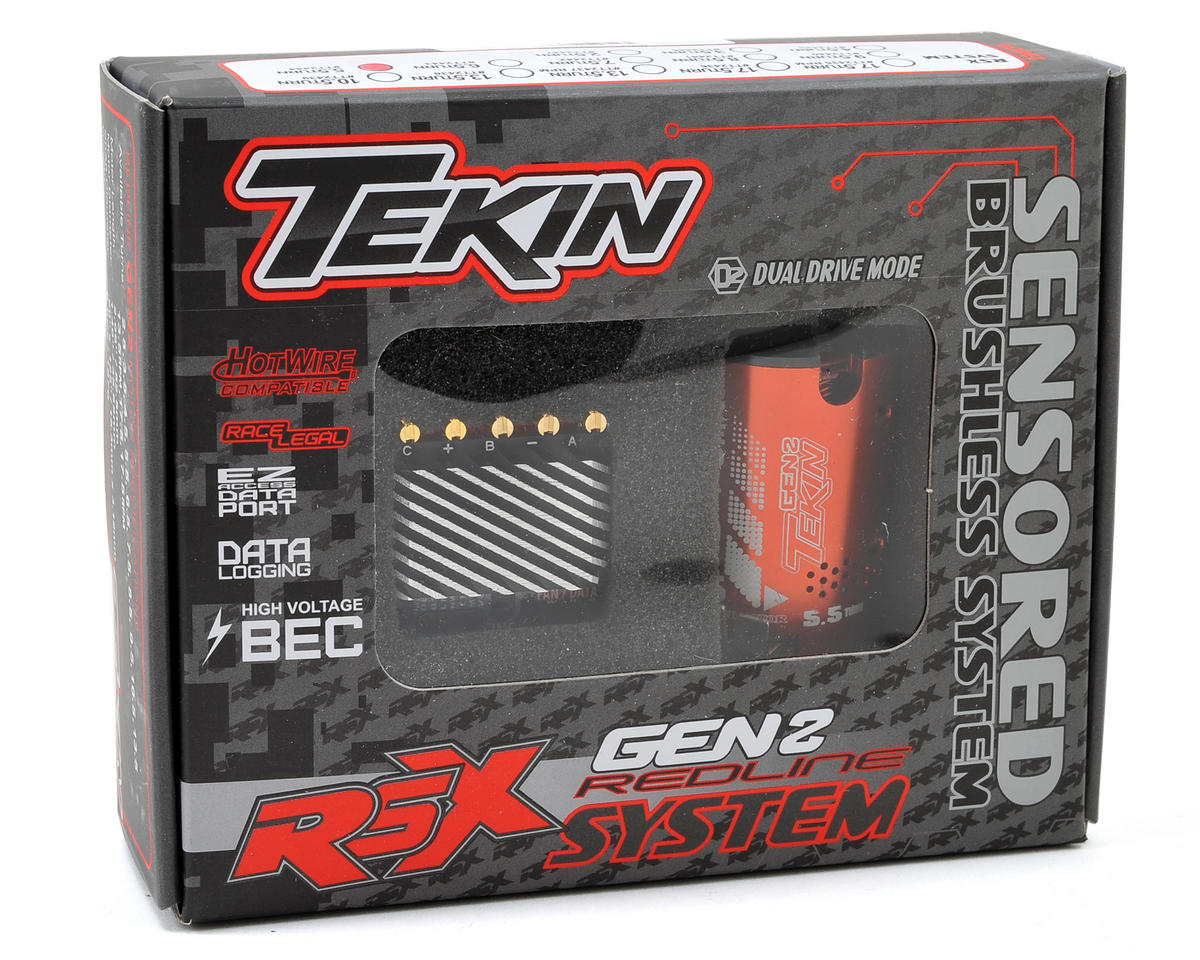 Tekin RSX Gen2 Sensored Brushless ESC/Motor Combo (5.5T)