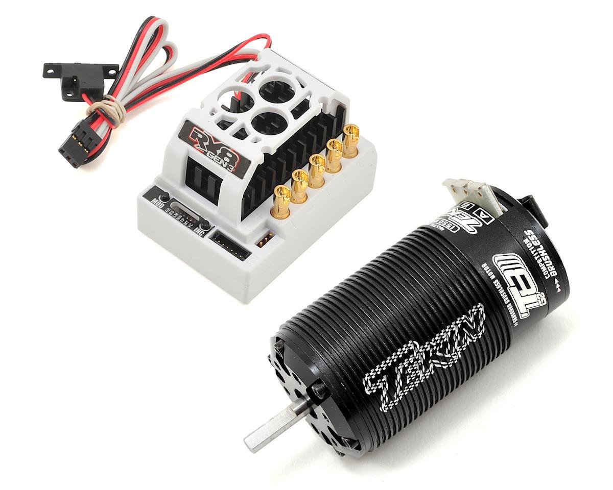 Tekin RX8 GEN3/Redline T8 GEN2 1/8 Truggy Brushless ESC/Motor Combo (1550kV)