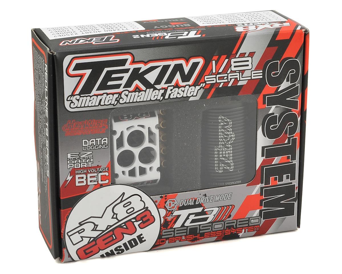 Tekin RX8 GEN3/Redline T8 GEN2 1/8 Truggy Brushless ESC/Motor Combo (1350kV)