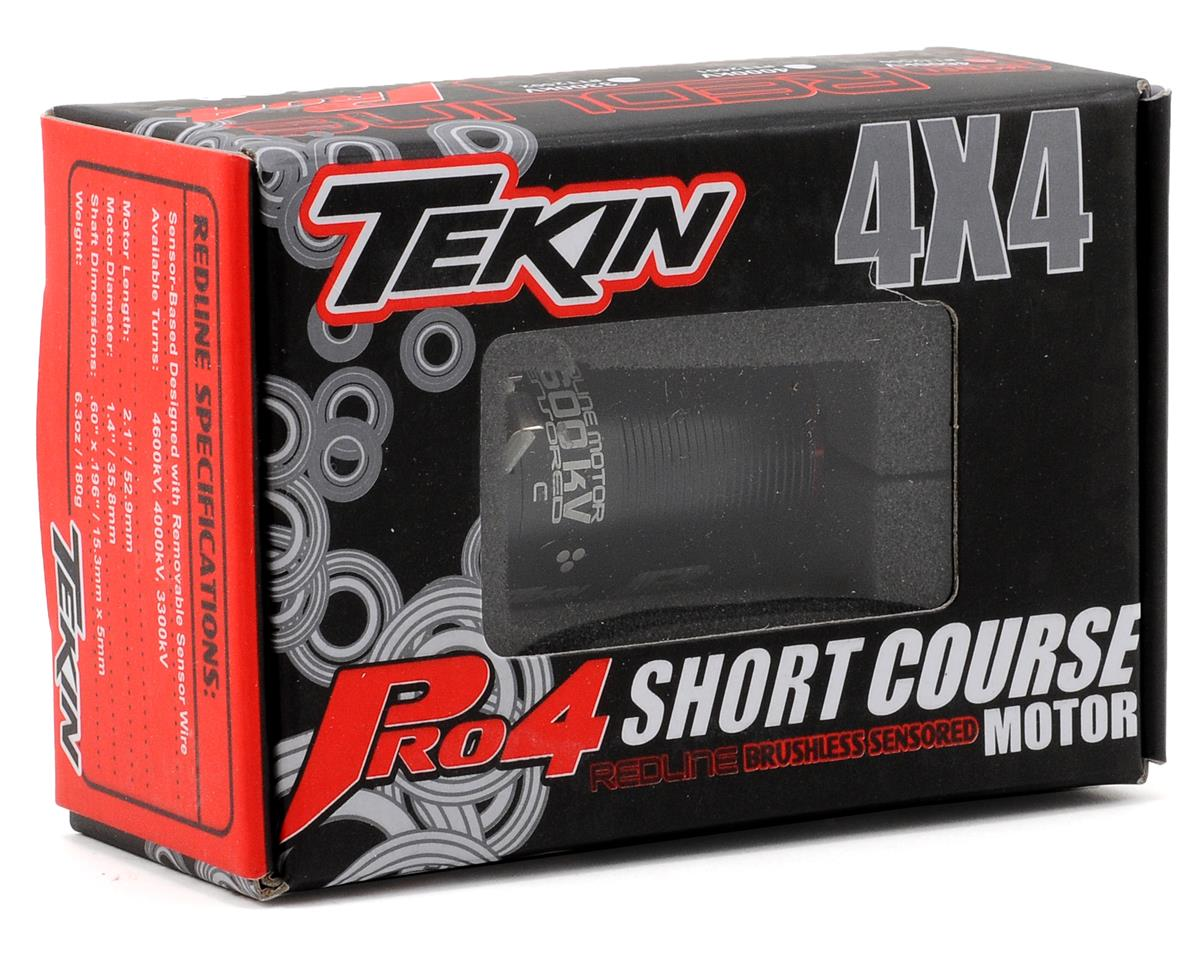 Tekin Pro4 4-Pole Brushless Motor w/5mm Shaft (4,000kV)