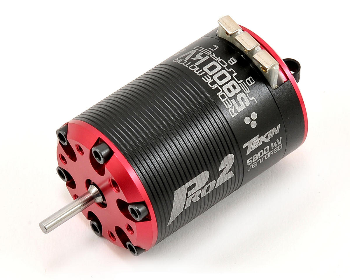 Pro2 HD 4-Pole Brushless Motor (5,800kV) by Tekin