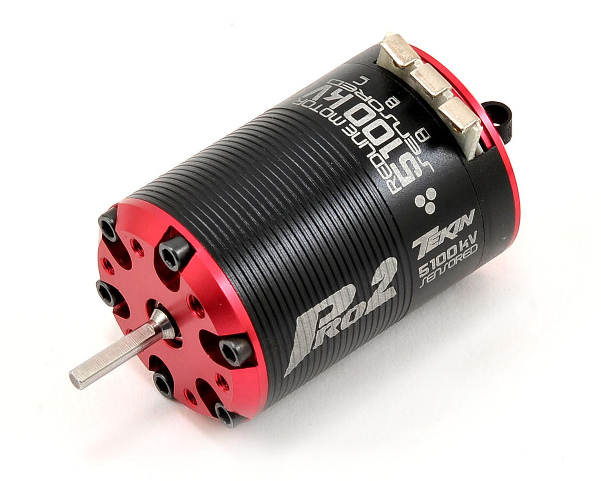 Pro2 HD 4-Pole Brushless Motor (5,100kV) by Tekin