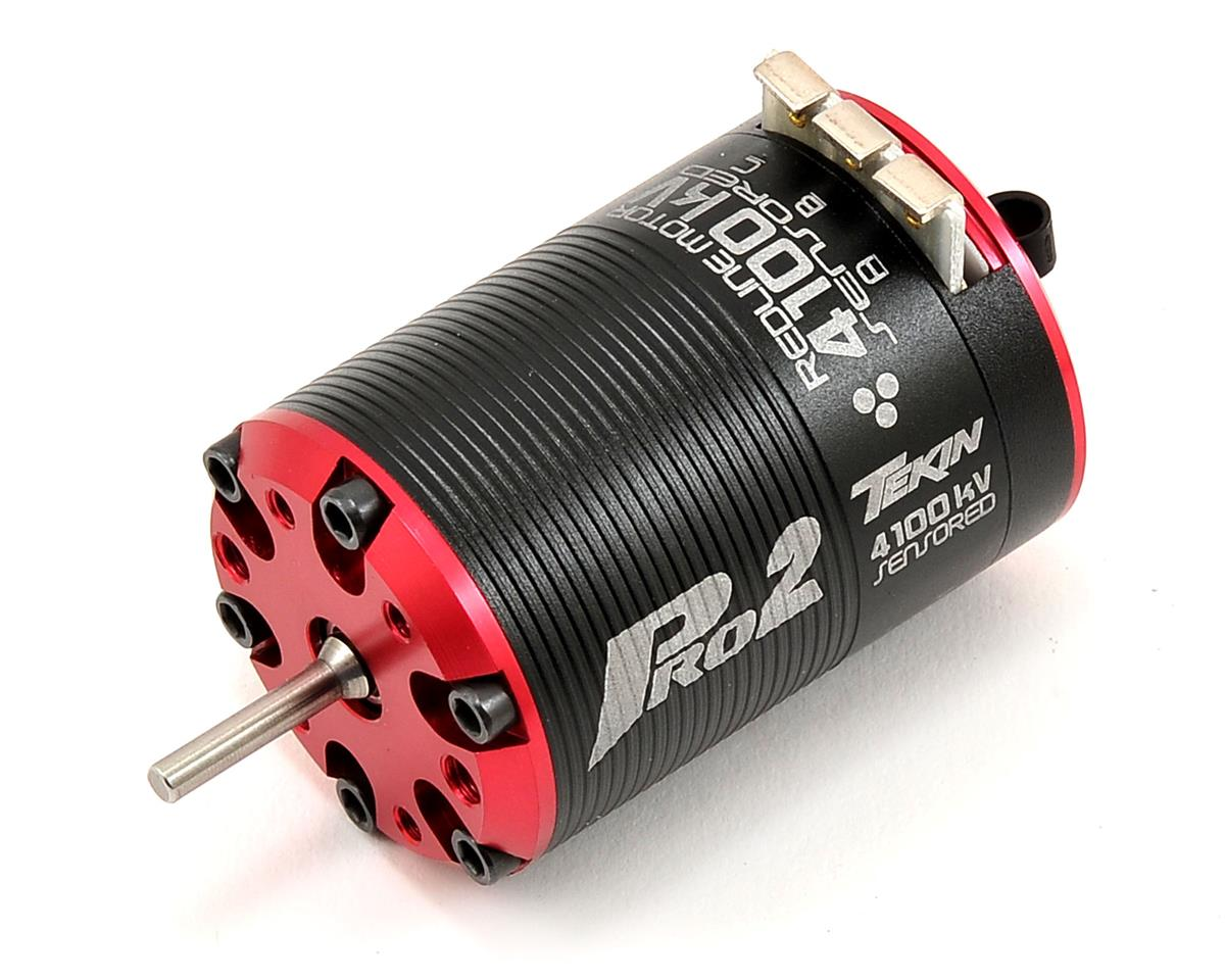 Pro2 HD 4-Pole Brushless Motor (4,100kV) by Tekin