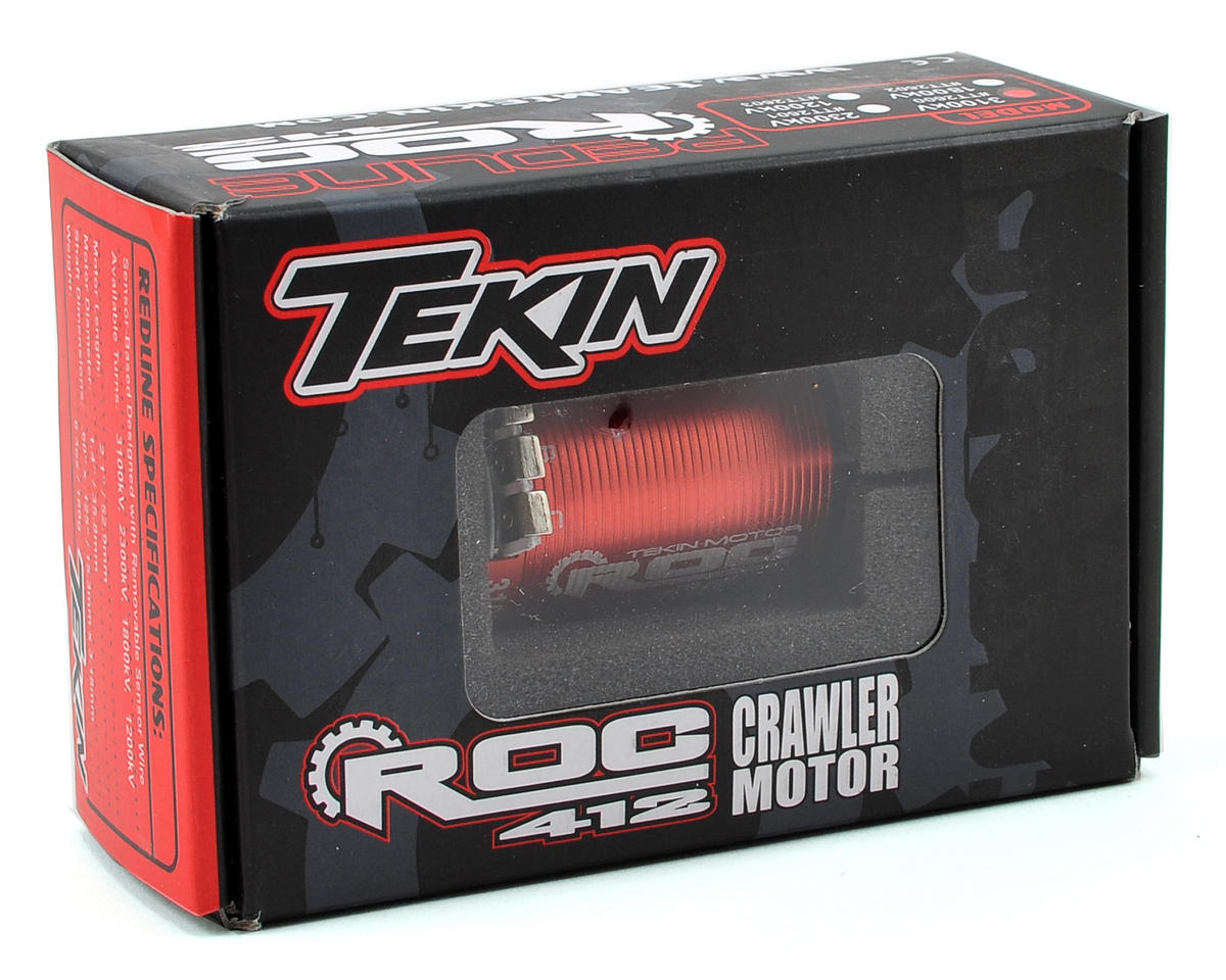 Tekin ROC 412 4-Pole Sensored Brushless Rock Crawler Motor (3100kV)