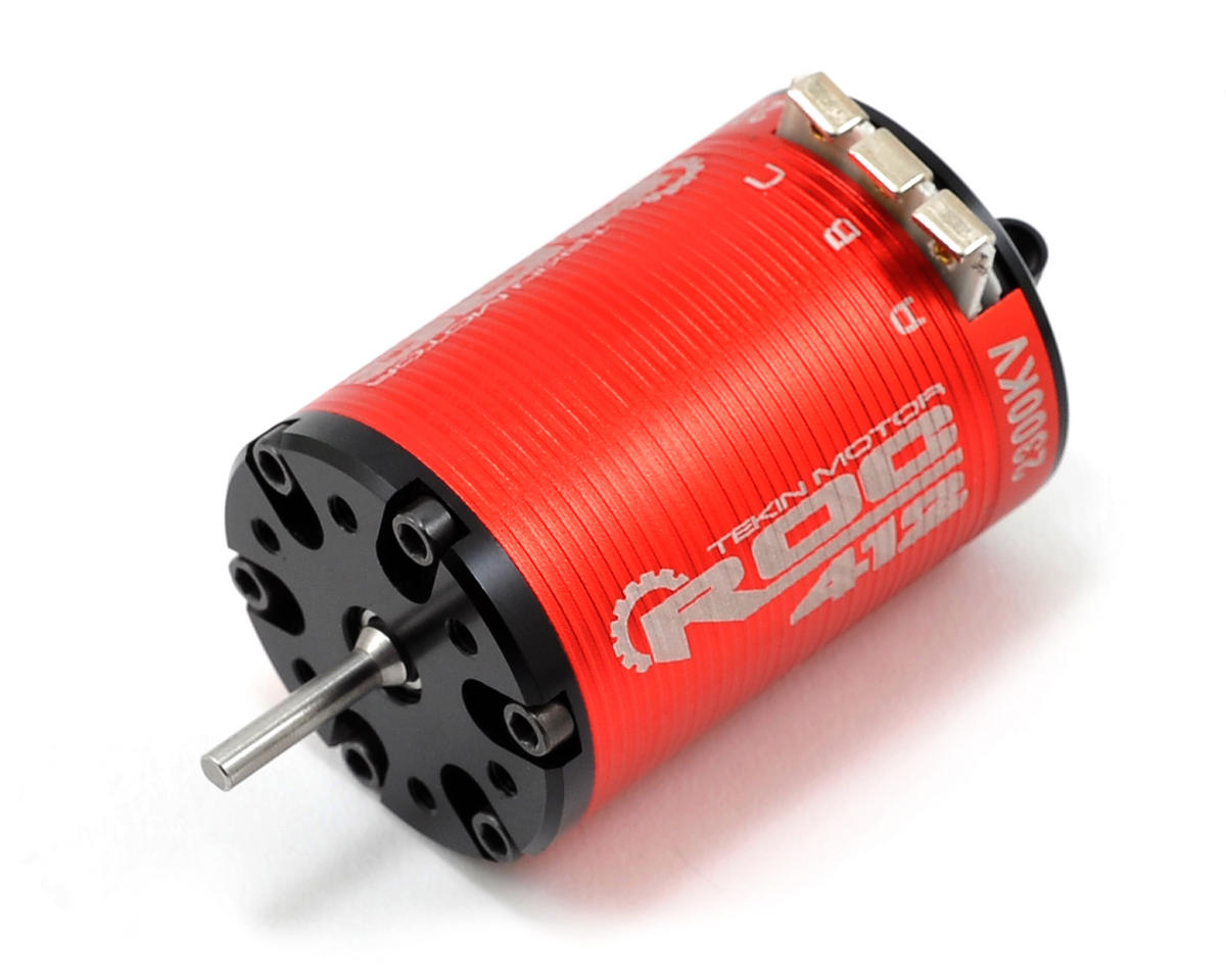 ROC 412 4-Pole Sensored Brushless Rock Crawler Motor (2300kV) by Tekin