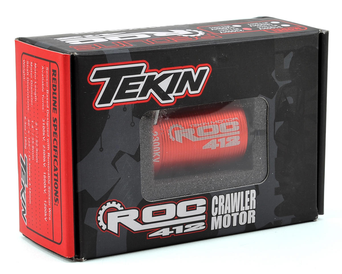 Tekin ROC 412 4-Pole Sensored Brushless Rock Crawler Motor (2300kV)