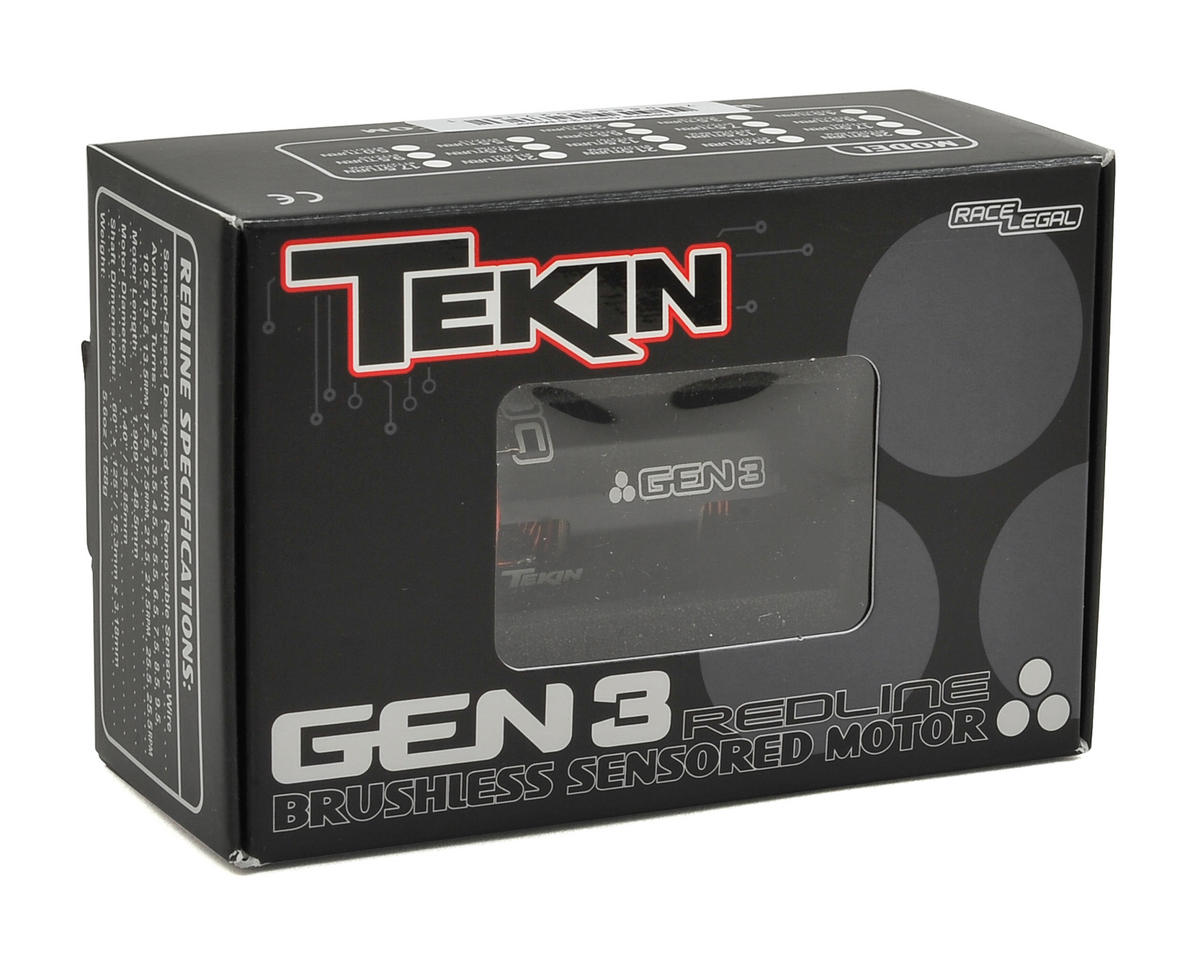 Tekin Redline Gen3 Sensored Brushless Motor (25.5T)