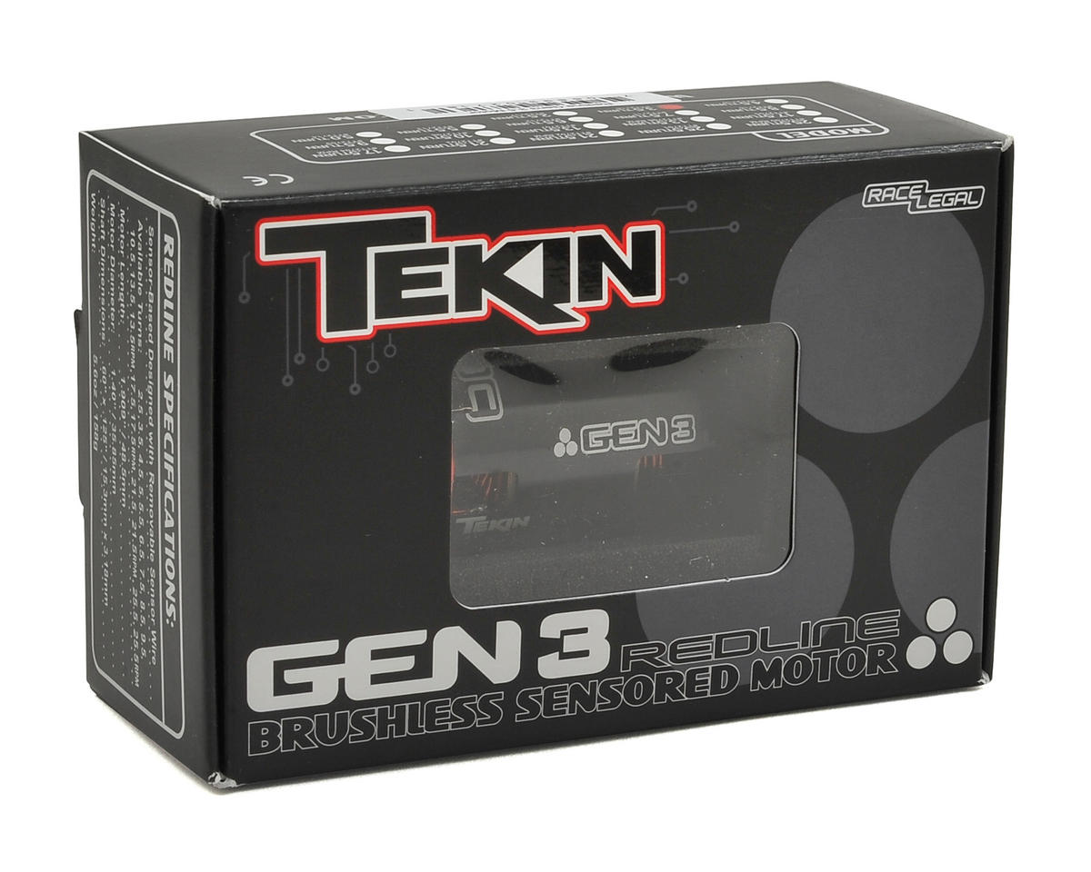 Tekin Redline Gen3 Modified Sensored Brushless Motor (7.5T)