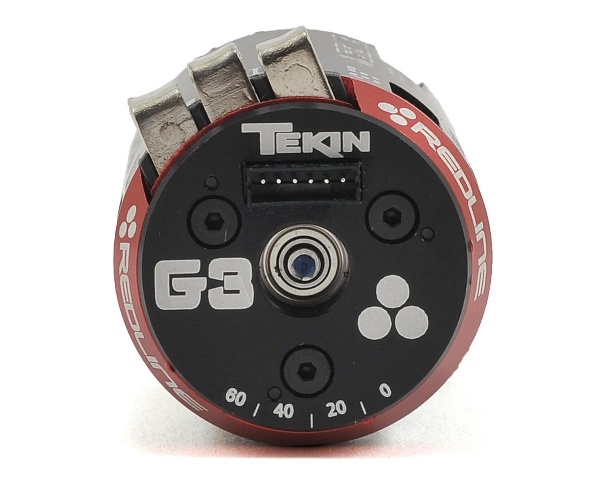 Redline Gen3 Modified Sensored Brushless Motor (5.0T) by Tekin