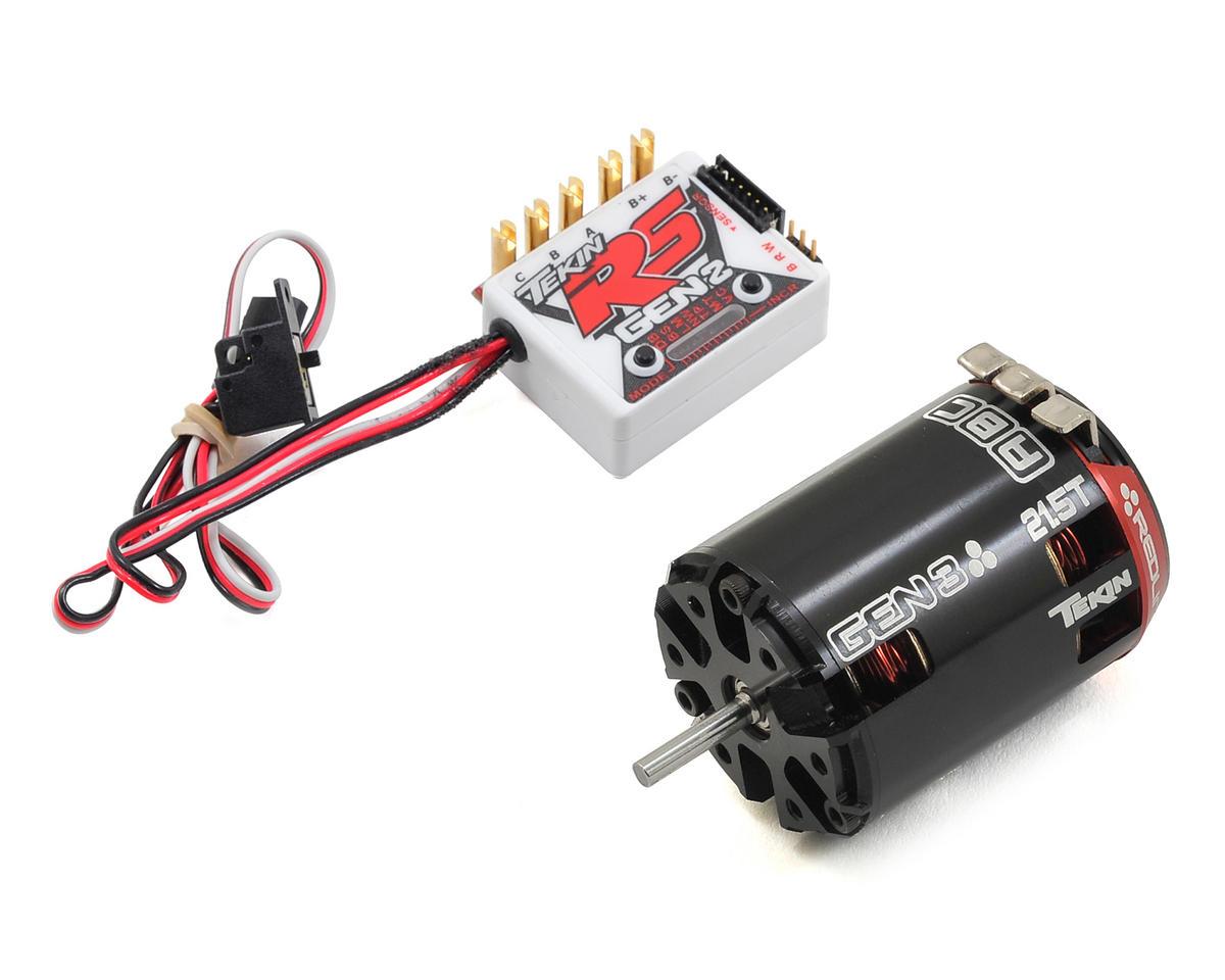 Tekin RS Gen2 Sensored Brushless ESC/Gen3 Motor Combo (21.5T)