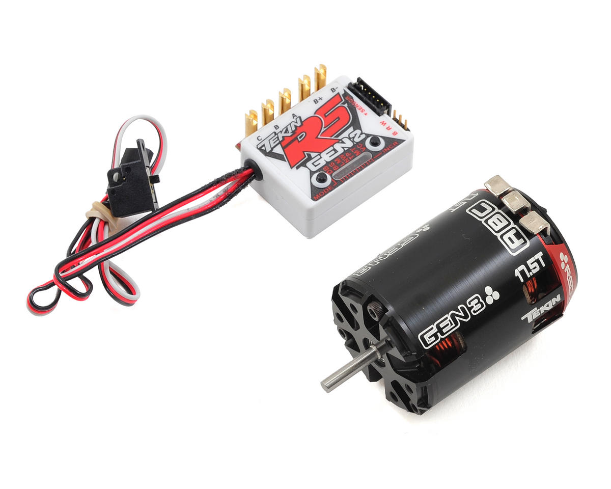 RS Gen2 Sensored Brushless ESC/Gen3 Motor Combo (17.5T)