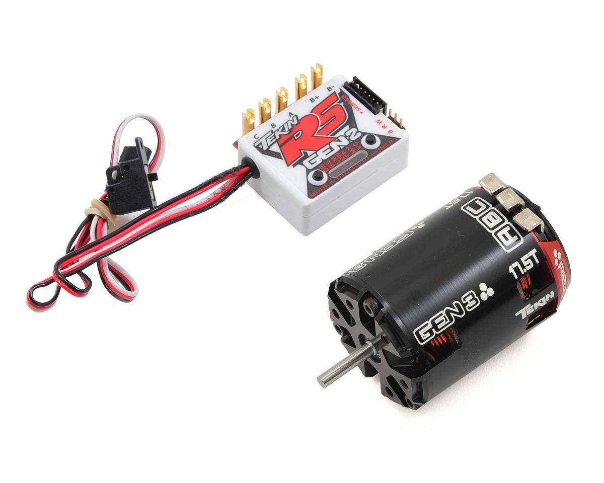 Tekin RS Gen2 Sensored Brushless ESC/Gen3 Motor Combo (17.5T)
