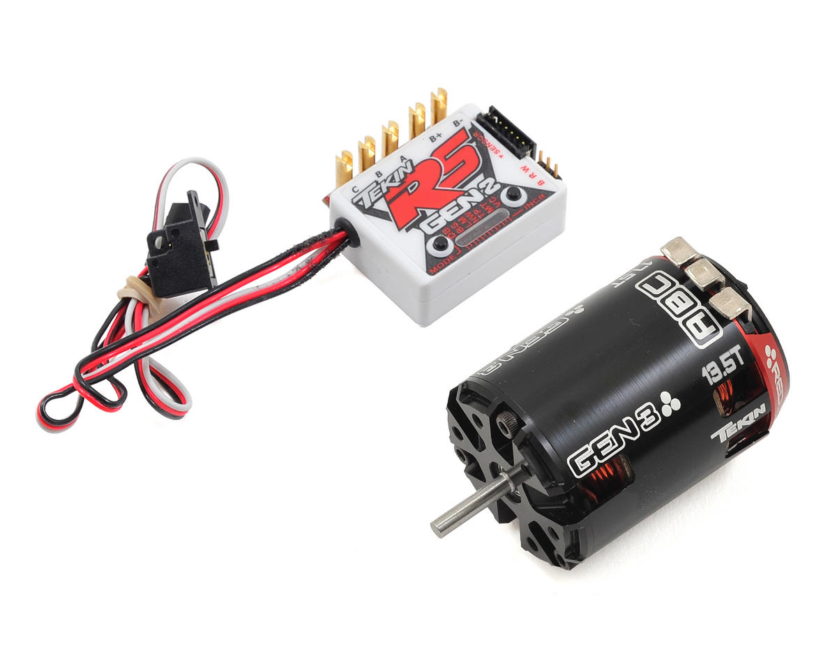 Tekin RS Gen2 Sensored Brushless ESC/Gen3 Motor Combo (13.5T RPM)