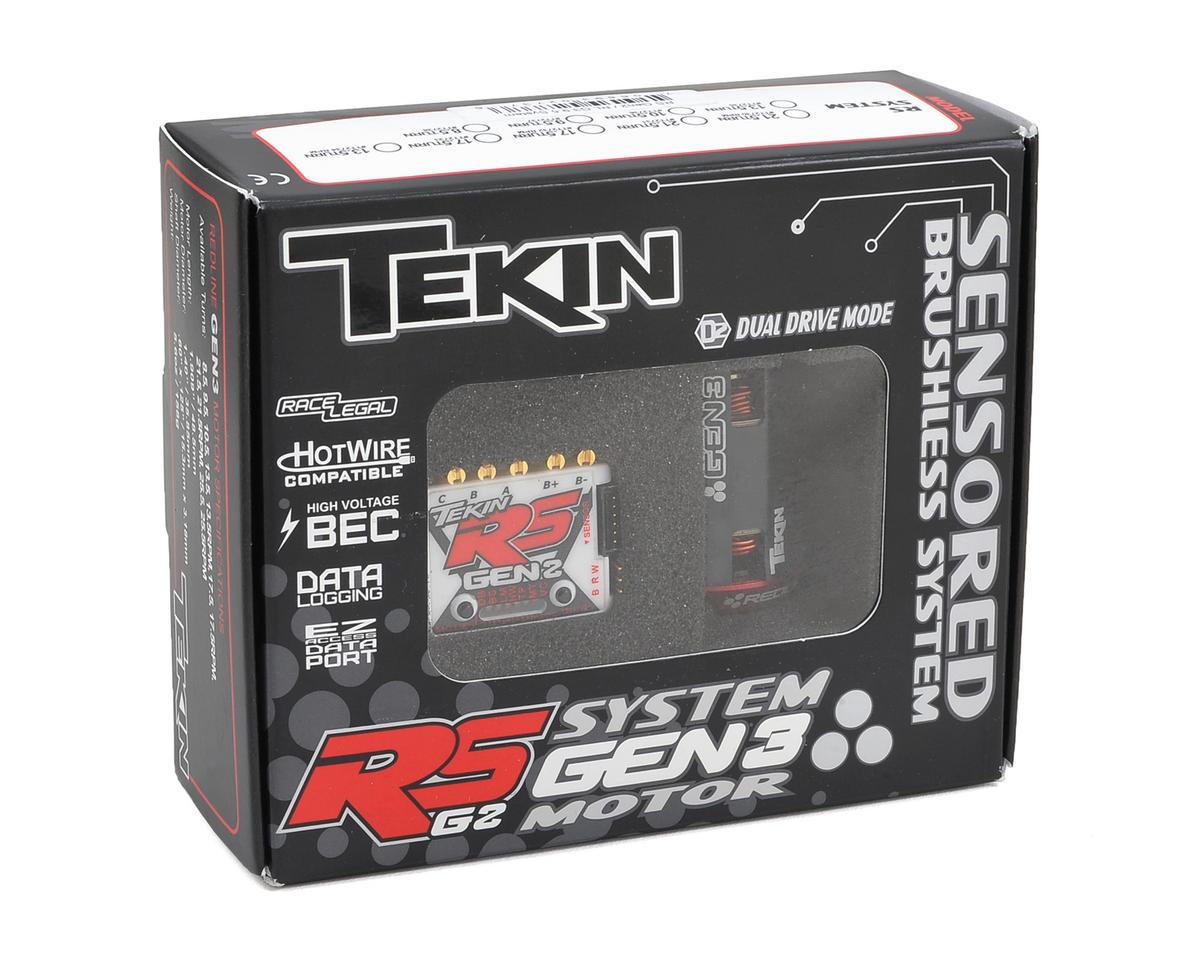 Tekin RS Gen2 Sensored Brushless ESC/Gen3 Motor Combo (13.5T)