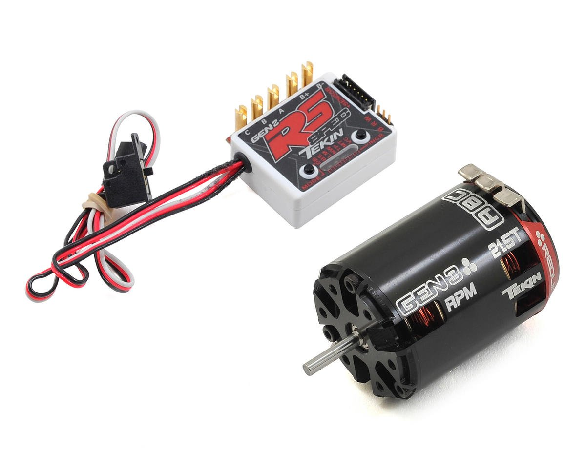 Tekin RS Gen2 SPEC Sensored Brushless ESC/Gen3 Motor Combo (21.5T RPM)