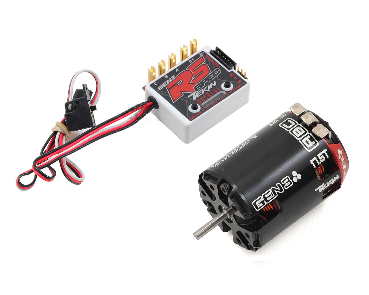 RS Gen2 SPEC Sensored Brushless ESC/Gen3 Motor Combo (17.5T) by Tekin