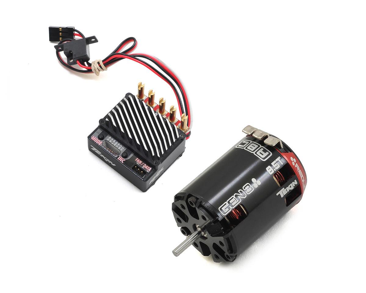 Tekin RSX Sensored Brushless ESC/Gen3 Motor Combo (8.5T)