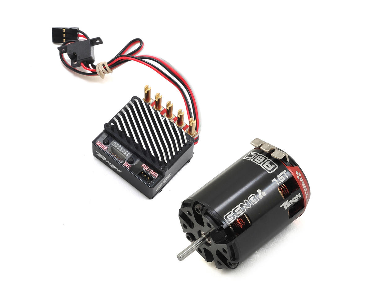 RSX Sensored Brushless ESC/Gen3 Motor Combo (7.5T) by Tekin