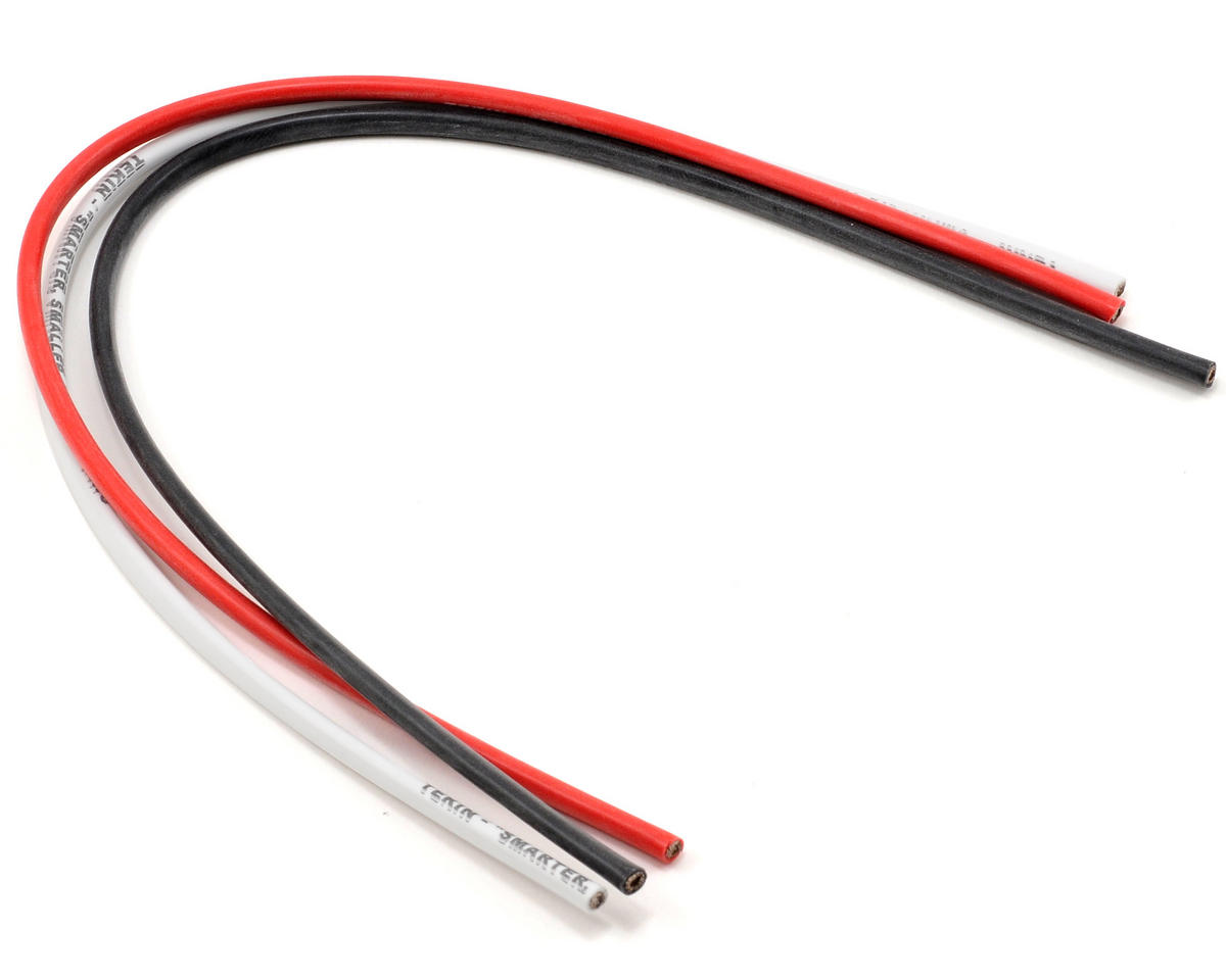 12awg Silicon Power Wire Pack (Black/Red/White) (12\