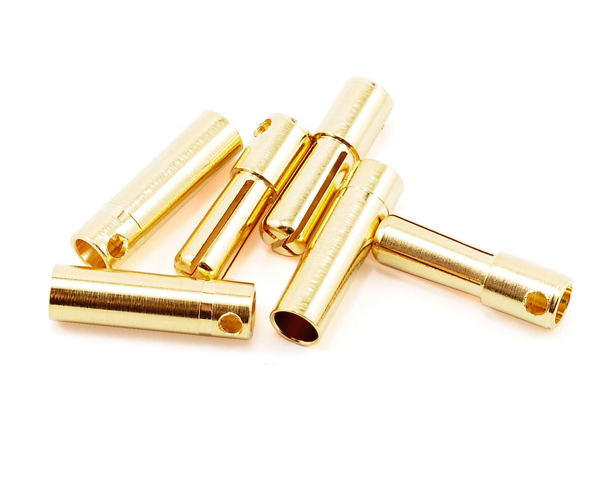 Tekin 4mm High-Efficiency Bullet Connectors (3)