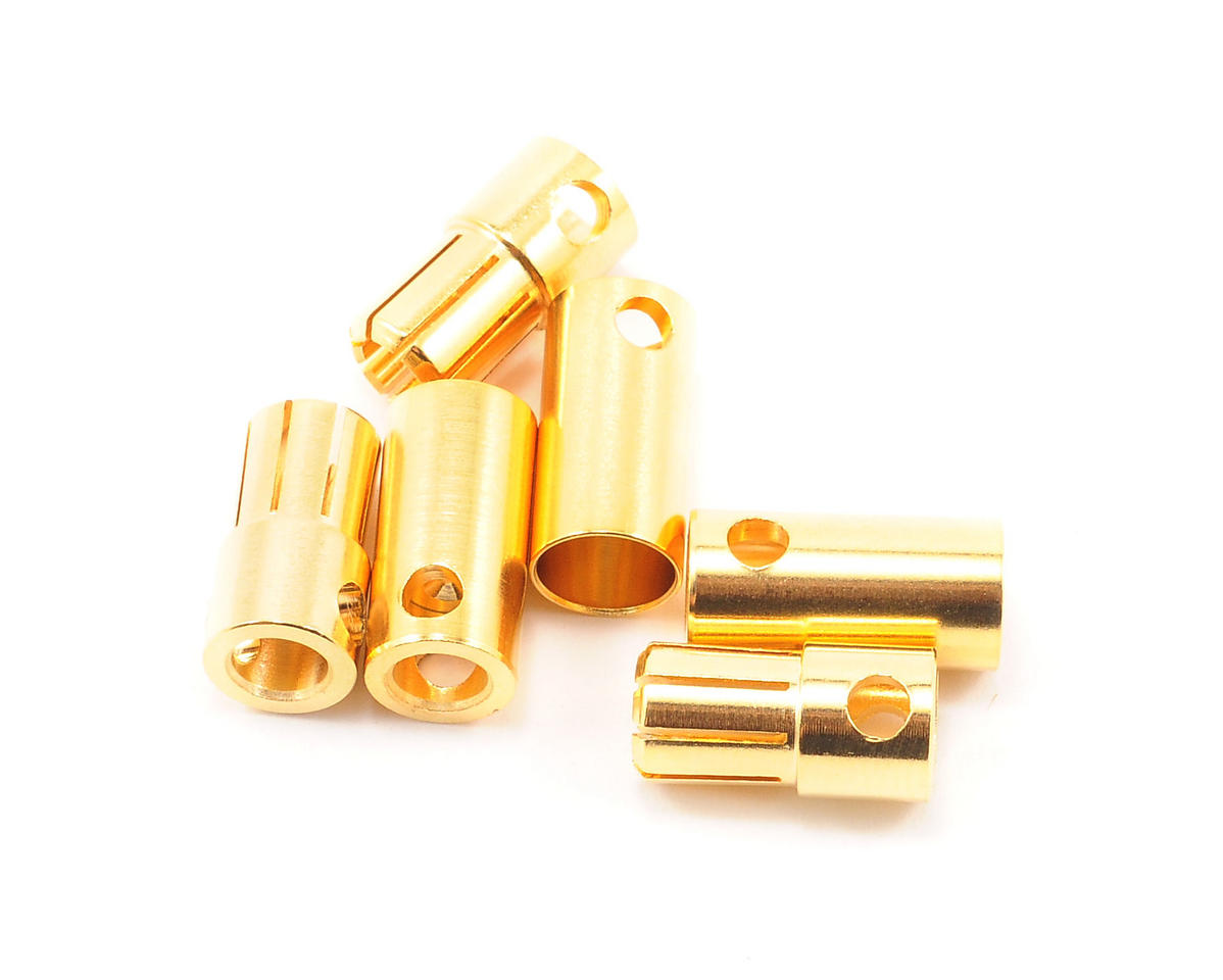 Tekin 6.5mm High-Efficiency Bullet Connector Set (3)