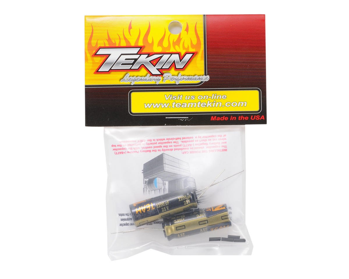Tekin Power Cap 25V 1800uF (5S Lipo) (2)