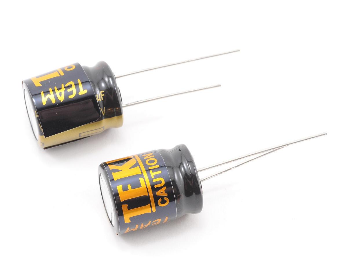 Tekin 25V 2200uF Power Cap (5S Lipo) (2)
