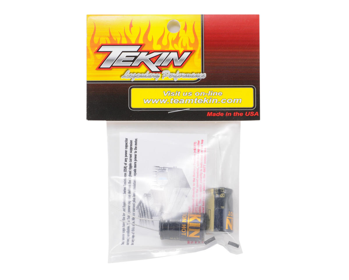 Tekin 25V 2700uF Power Cap (5S Lipo) (2)