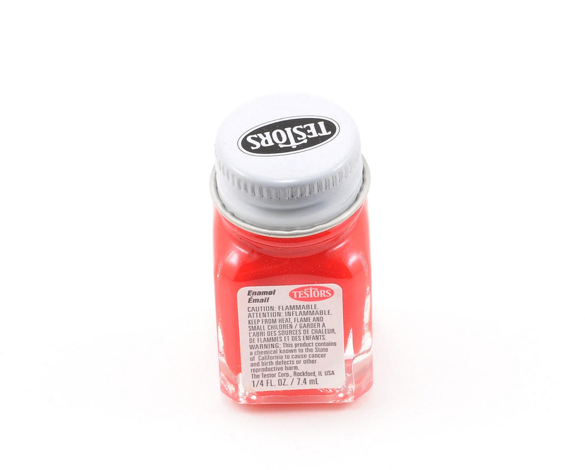 Red Enamel Paint 1/4oz
