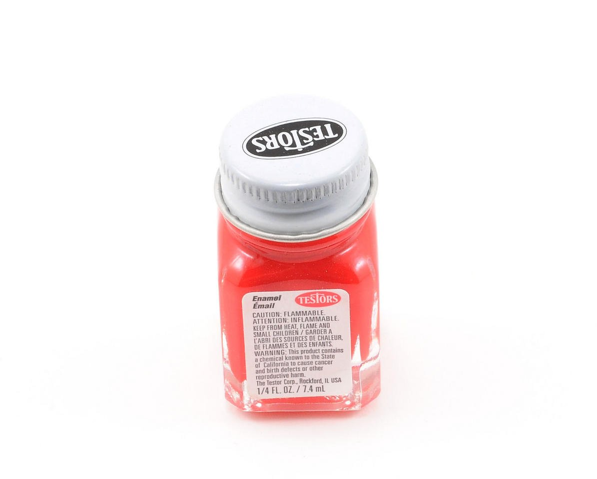 Testors Red Enamel Paint 1/4oz