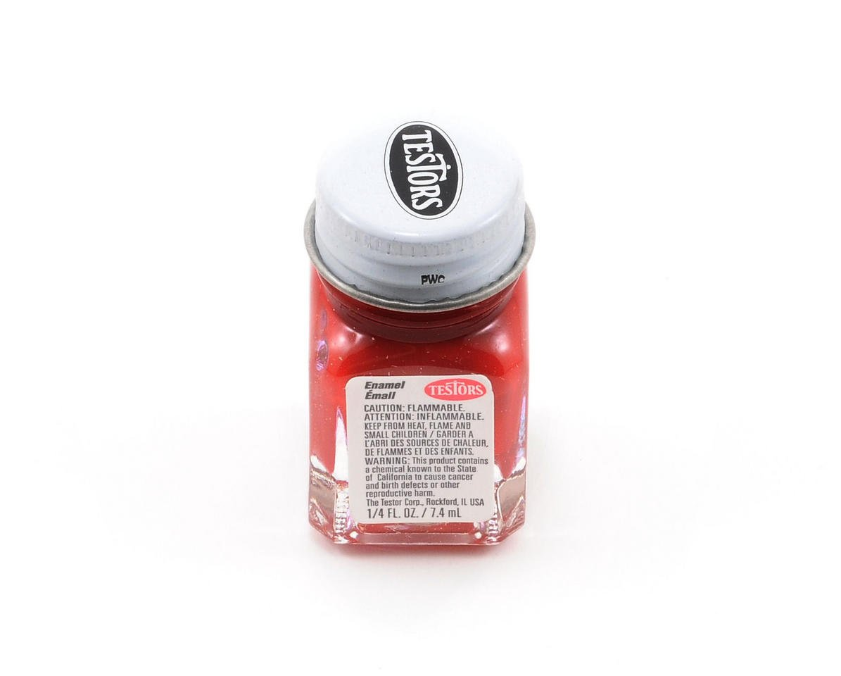 Testors Dark Red Enamel Paint 1/4oz