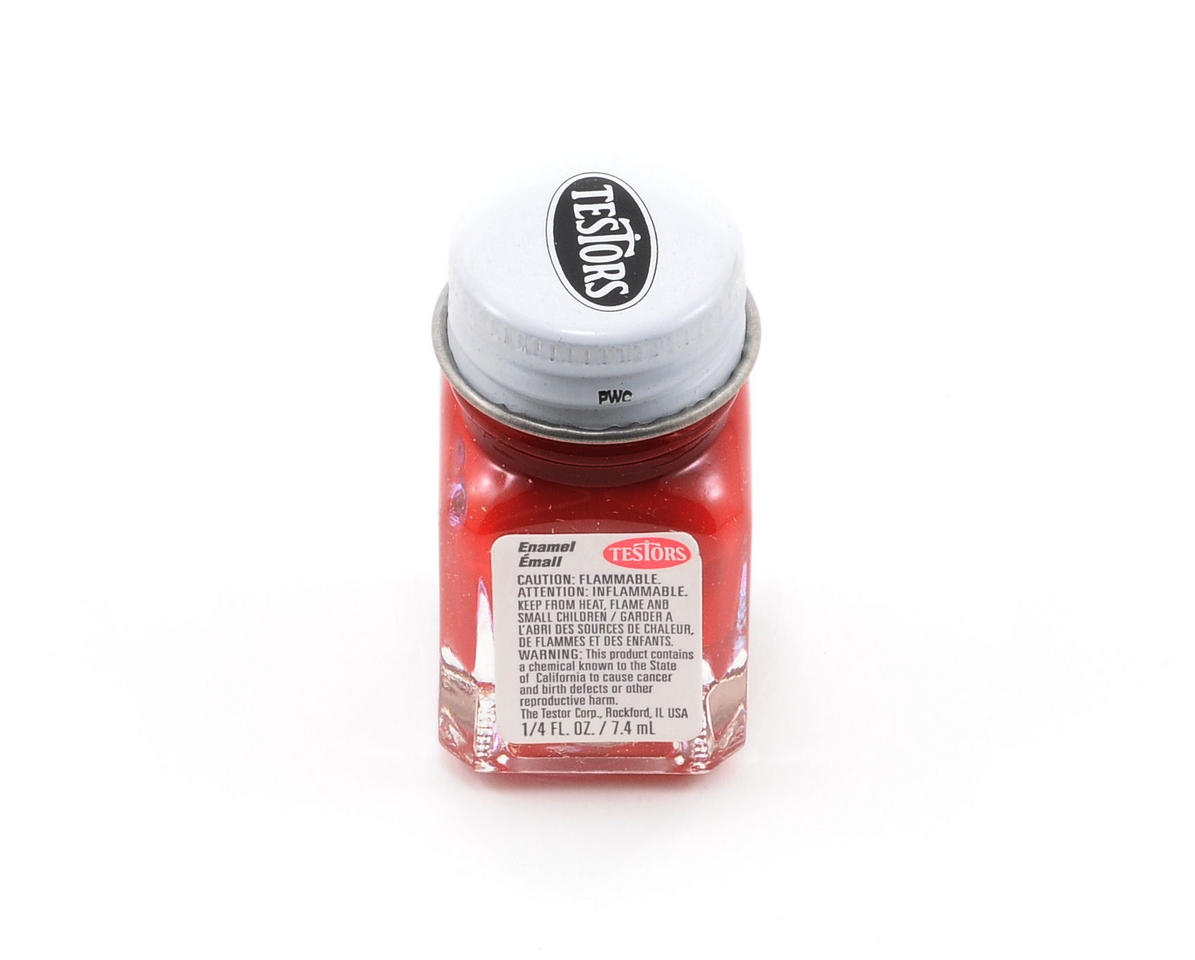 Dark Red Enamel Paint (1/4oz) by Testors