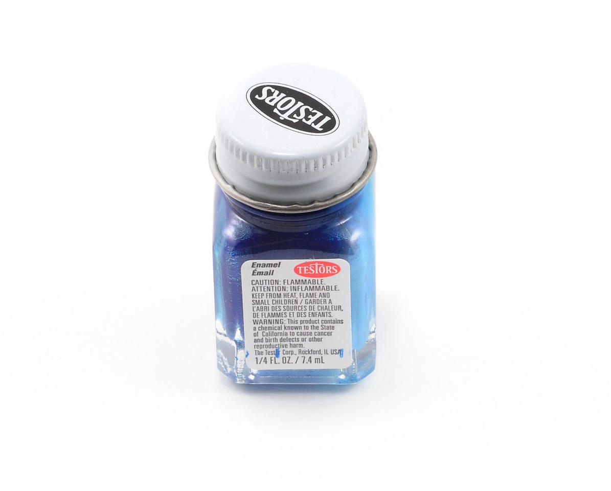 Testors Blue Enamel Paint (1/4oz)
