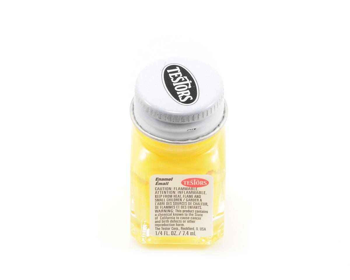 Testors Light Yellow Enamel Paint 1/4oz [TES1112TT] | Cars & Trucks