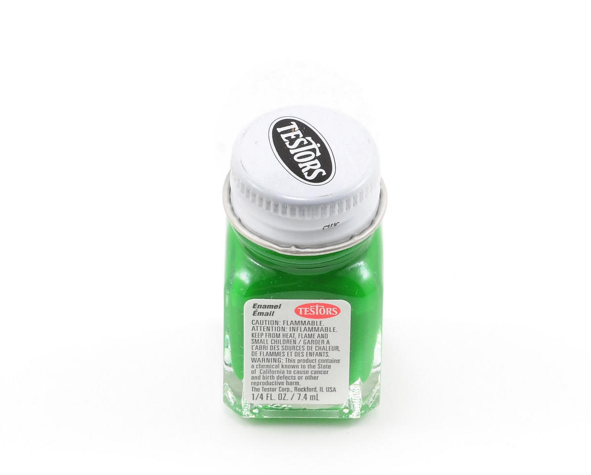 Testors Green Enamel Paint 1/4oz