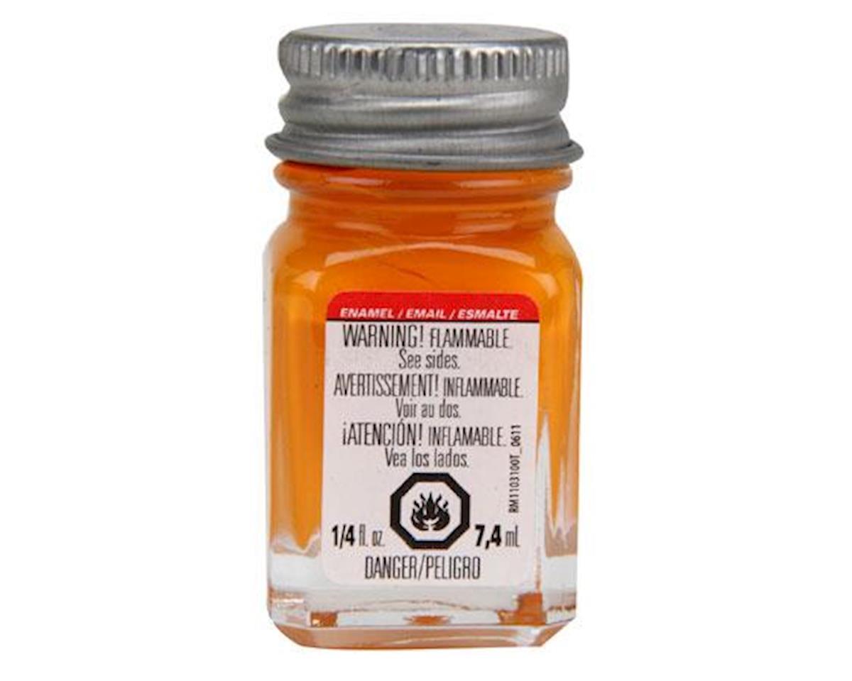 Testors Enamel 1/4oz, Tangerine