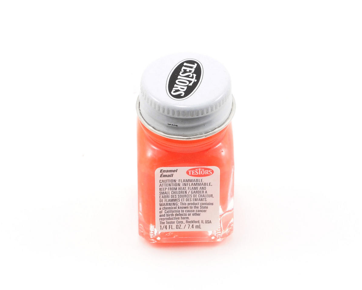 Testors Orange Enamel Paint 1/4oz