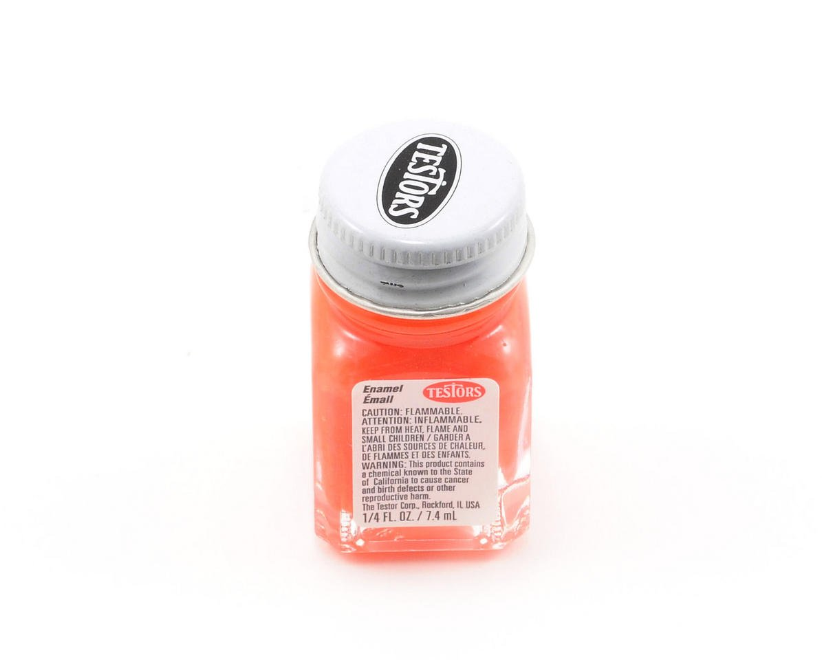 Orange Enamel Paint 1/4oz