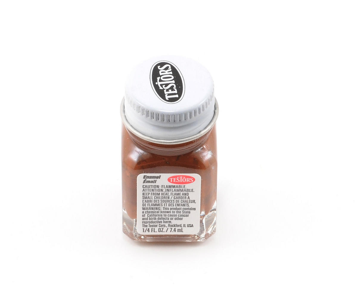 Testors Light Brown Enamel Paint 1/4oz