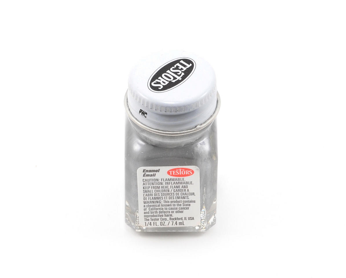 Silver Enamel Paint (1/4oz) by Testors