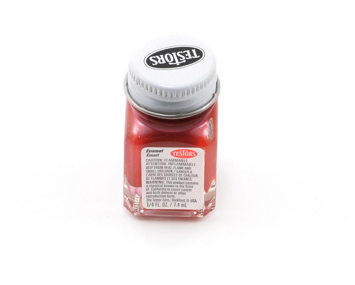 Testors Metallic Red Enamel Paint 1/4oz