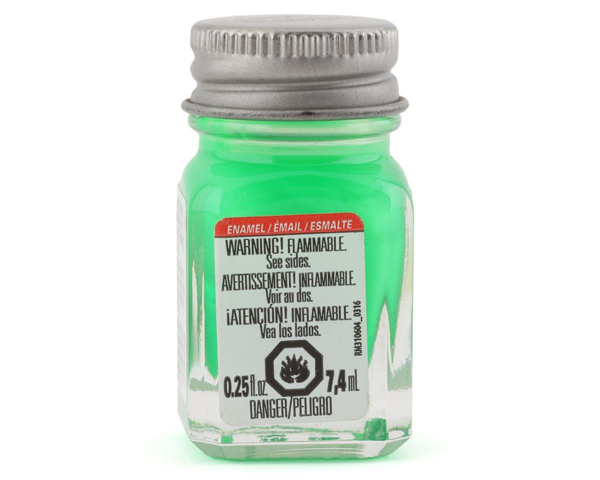 Testors Enamel 1/4oz, Green Fluorescent